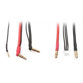 Univerzálny nabíjací kábel - 2S LiPo HARDCASE z G4 na P5 vrátane balančného adaptéra XH