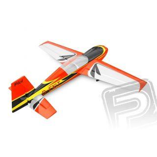 Extra 300 scale 35% (2 700 mm) 100cc (červeno / čierno / strieborno / biela)