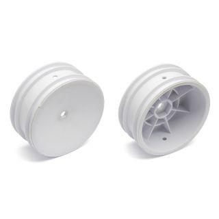 Predné disky biele pre 4WD (HEX) - 2 ks