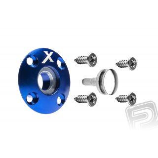 Tankovací ventil magnetický (X logo), modrý