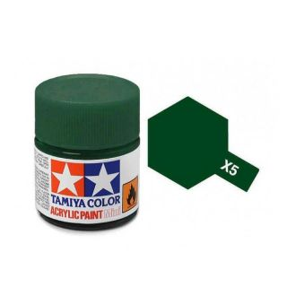Tamiya Color X-5 Green gloss 10ml