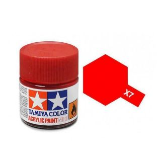 Tamiya Color X-7 Red Gloss 10ml