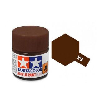 Tamiya Color X-9 Brown gloss 10ml