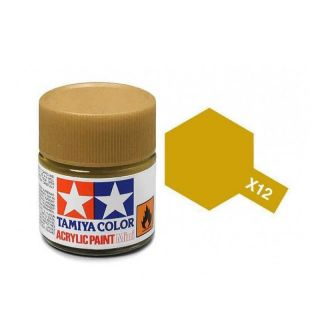 Tamiya Color X-12 Gold Leaf gloss 10ml