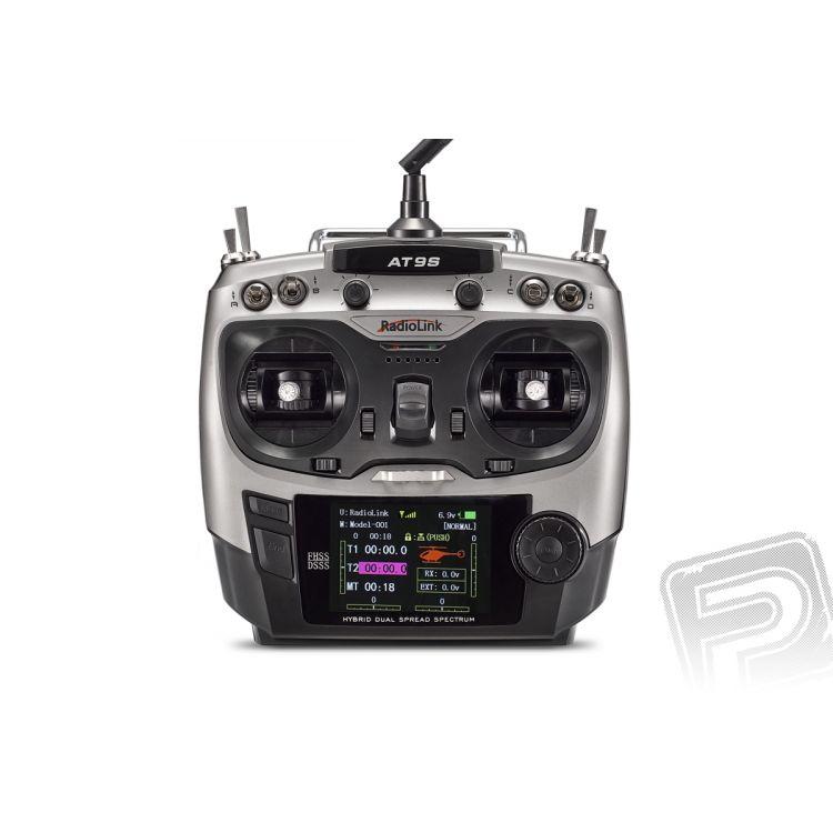 Vysílač AT9S s přijímačem R9DS