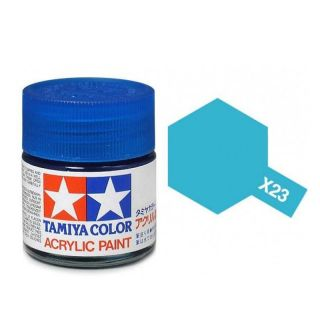 Tamiya Color X-23 Clear Blue gloss 10ml