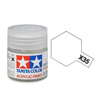 81535 X-35 Semi Gloss Clear Tamiya Color Acrylic Paint 10ml