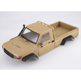 Killerbody karosérie Toyota Land Cruiser 70 písková (Traxxas TRX-4)