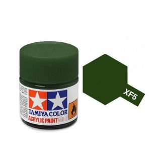 Tamiya Color XF-5 Flat Green 10ml