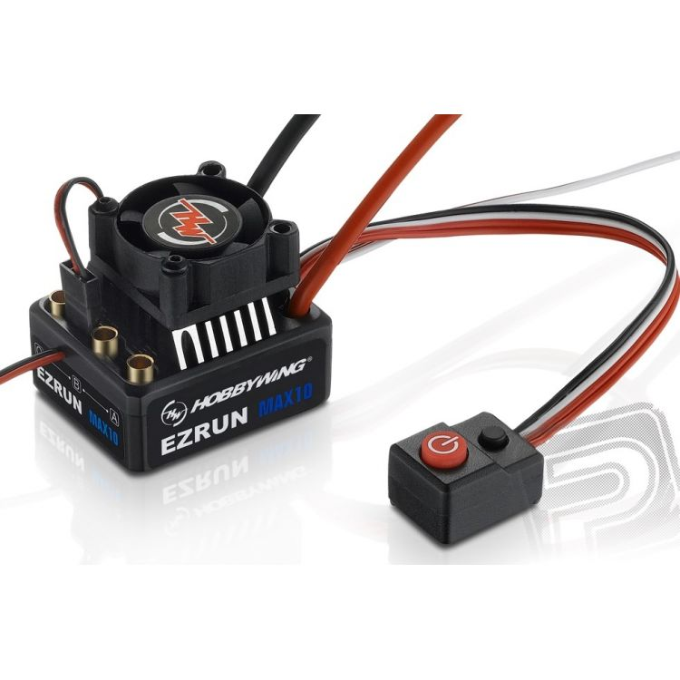 EZRUN MAX10 - černý - regulátor
