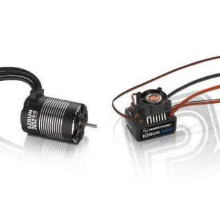 COMBO MAX10 s EZRUN 3652 SL 3300Kv - čierny