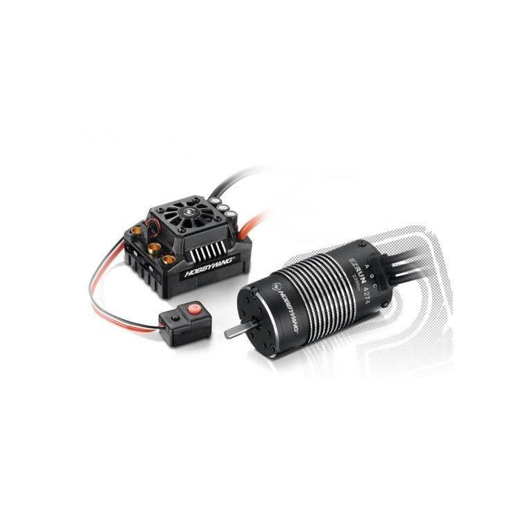 COMBO MAX8 T konek. s EZRUN 4274 SL 2200Kv - černý