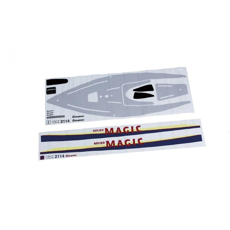Lodní kýl - Micro Magic