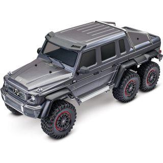 Traxxas TRX-4 Mercedes G 63 6x6 1:10 TQi RTR stříbrný