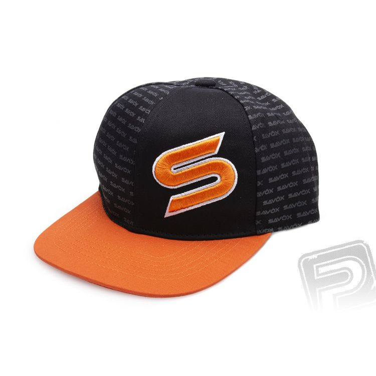 SAVOX čepice oranžovo/černá