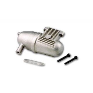 Brúsené potrubia, bez krúžku, tlmič, pre bočné výfuku motora 2,1 ccm