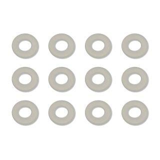 Nylon podložky, 1/32 IN. (.030 IN) (12 ks.)