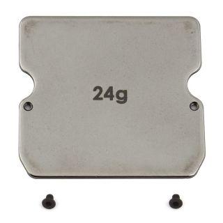 B6 šasi ocelové závaží, 24g