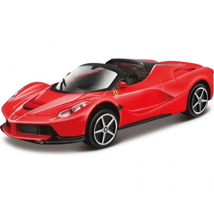 Bburago Ferrari LaFerrari Aperta 1:43 červená