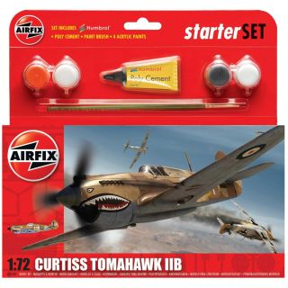 Starter Set letadlo A55101 - Curtiss Tomahawk IIB (1:72)