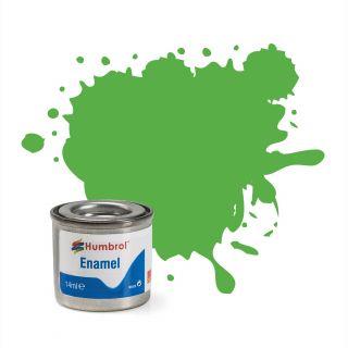 Humbrol barva email AA0037 - No 37 Bright Green - Matt - 14ml