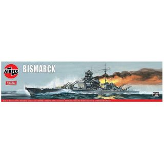 Classic Kit VINTAGE loď A04204V - Bismarck (1:600)