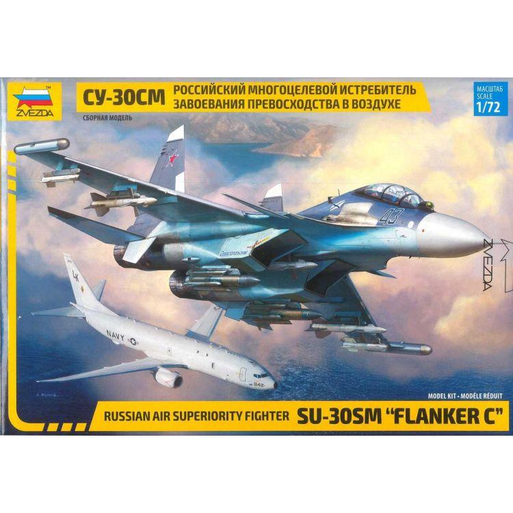 "Model Kit letadlo 7314 - Sukhoi SU-30 SM ""Flanker C"" (1:72)"