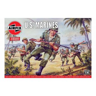 Classic Kit VINTAGE figurky A00716V - US Marines (1:76)