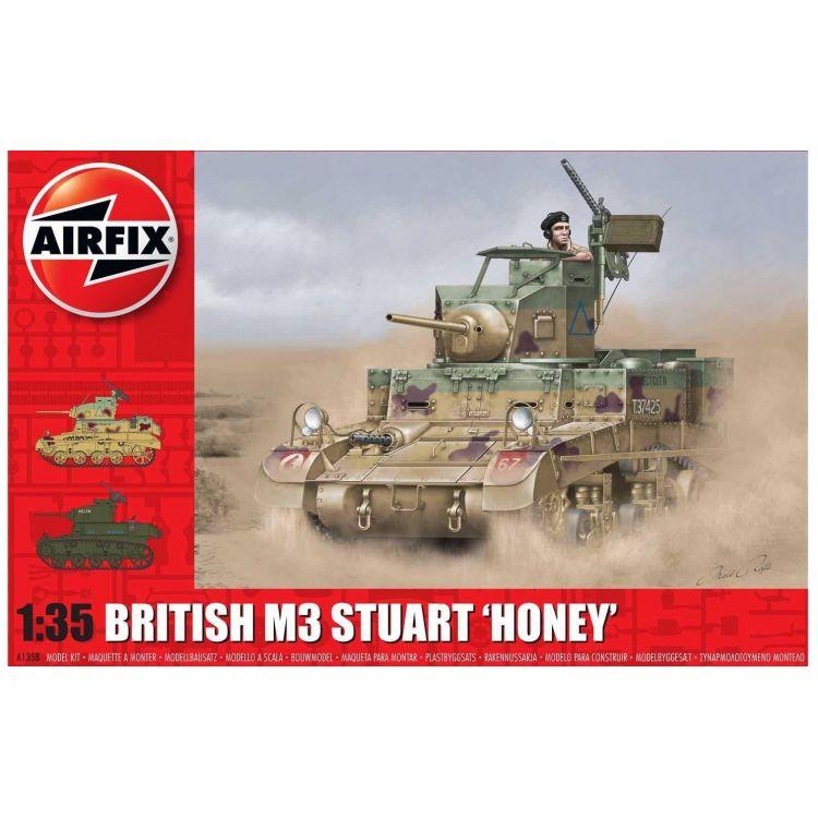 Classic Kit tank A1358 - M3 Stuart, Honey (British Version) (1:35)