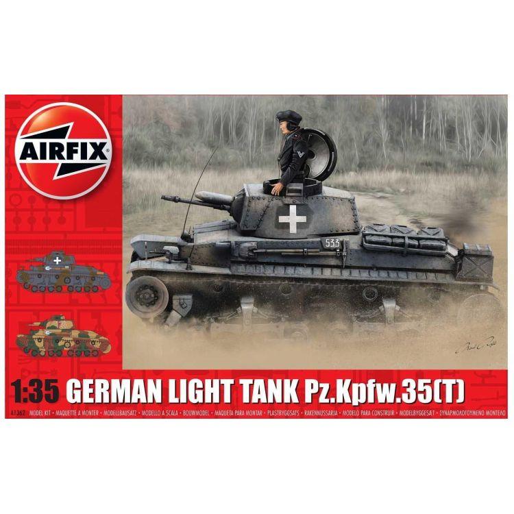 Classic Kit tank A1362 - German Light Tank Pz.Kpfw.35(t) (1:35)