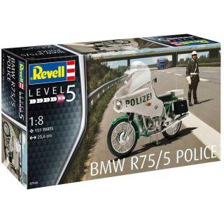 Plastic ModelKit motorka 07940 - BMW R75/5 Police (1:8)