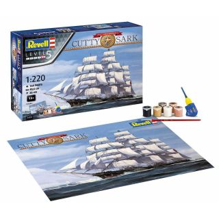 Gift-Set loď 05430 - Cutty Sark 150th Anniversary (1:220)