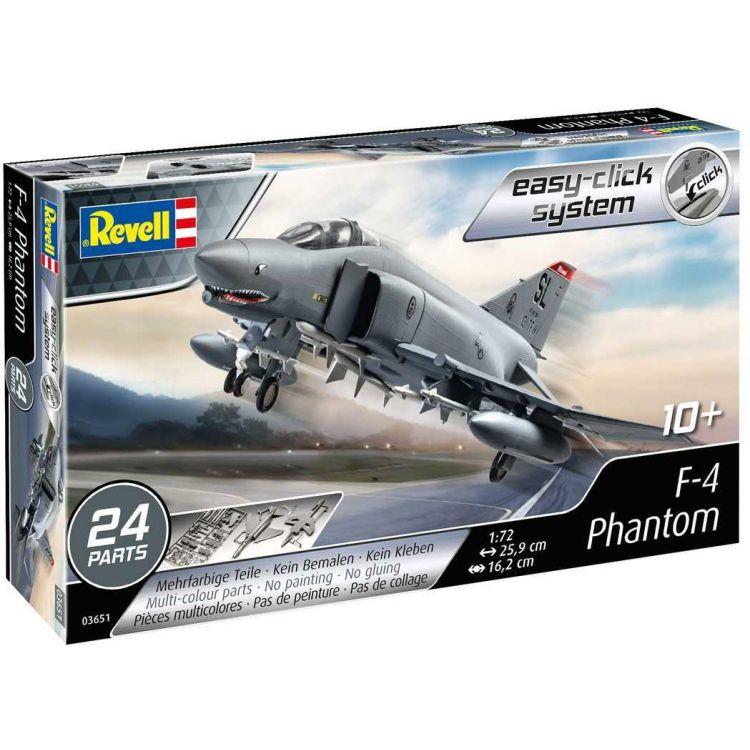 EasyClick ModelSet letadlo 63651 - F-4E Phantom (1:72)