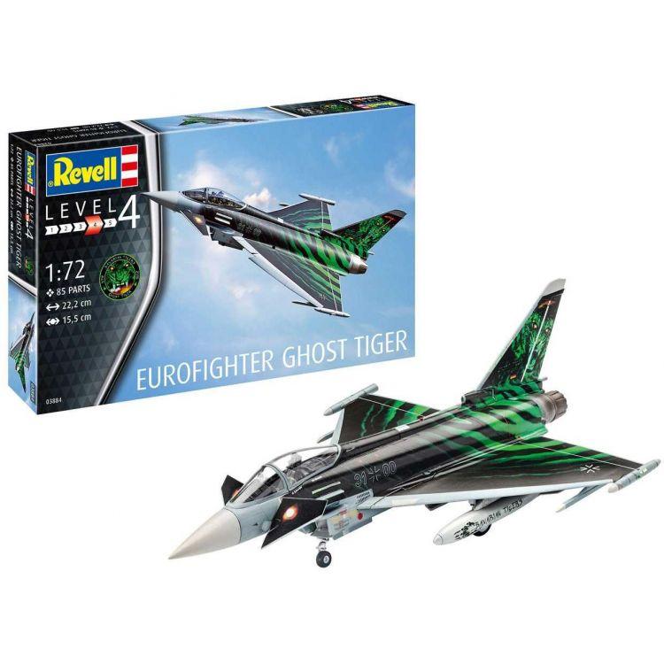 """ModelSet letadlo 63884 - Eurofighter """"Ghost Tiger """" (1:72)"""