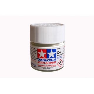 81002 X-2 White gloss Tamiya Color Acrylic Paint 23ml
