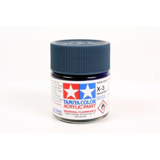81003 X-3 Royal Blue gloss Tamiya Color Acrylic Paint 23ml