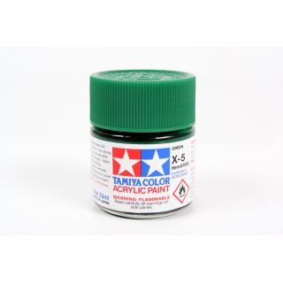 81005 X-5 Green gloss Tamiya Color Acrylic Paint 23ml