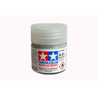 81021 X-21 Flat Base Tamiya Color Acrylic Paint 23ml