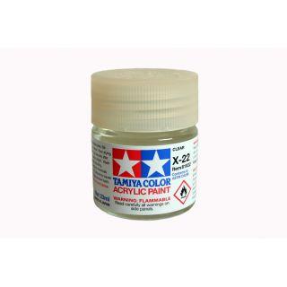 81022 X-22 Clear gloss Tamiya Color Acrylic Paint 23ml