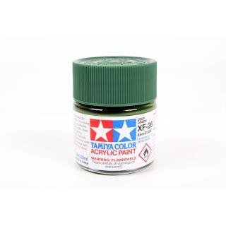 81326 XF-26 Flat Deep Green Tamiya Color Acrylic Paint 23ml
