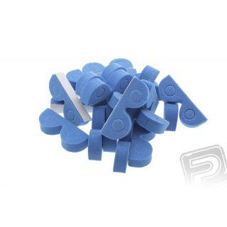 Organizér pre hadičky 4mm modrý (20ks)