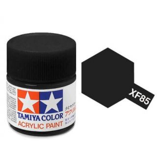 81785 XF-85 Flat Rubber Black Tamiya Color Acrylic Paint 10ml