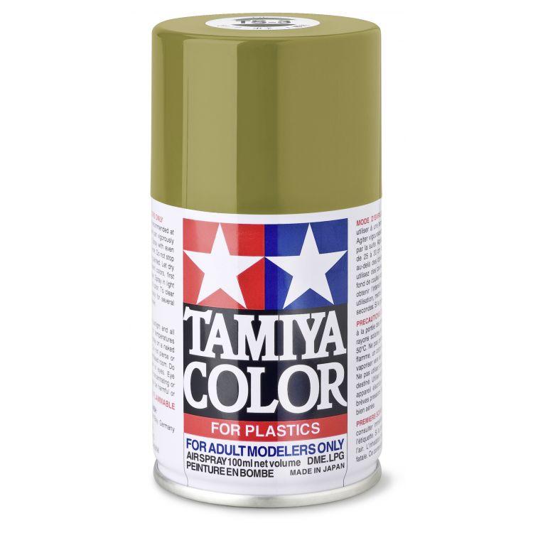 85003 TS 3 Dark Yellow Tamiya Color 100ml (Acrylic Spray Paint)