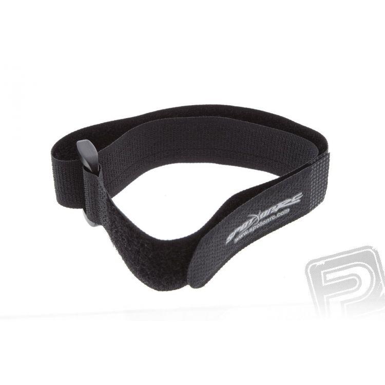 Suchý zip 40x1.5cm (černý)