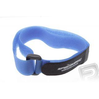 Uťahovací suchý zips 51x1.5cm (modrý)