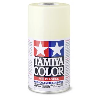 85007 TS 7 Racing White Tamiya Color 100ml (Acrylic Spray Paint)