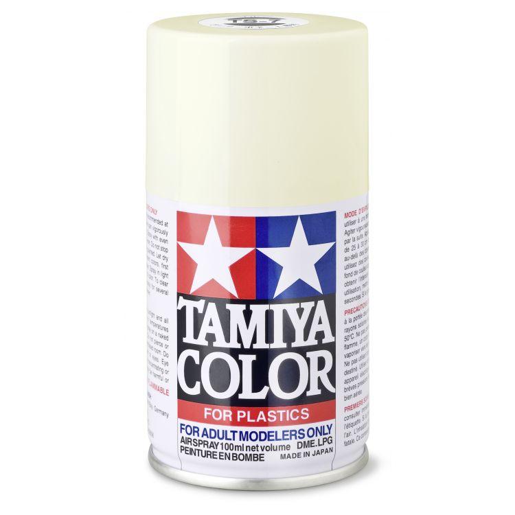 85007 TS 7 Racing White Tamiya Color 100ml (Acrylic Spray Paint)