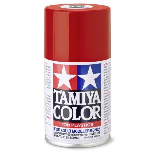 85008 TS 8 Italian Red Tamiya Color 100ml (Acrylic Spray Paint)
