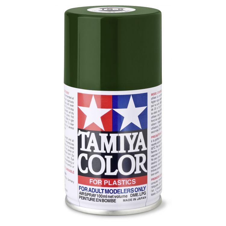 85009 TS 9 British Green Tamiya Color 100ml (Acrylic Spray Paint)