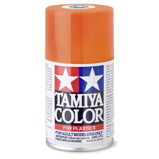 85012 TS 12 Orange Tamiya Color 100ml (Acrylic Spray Paint)